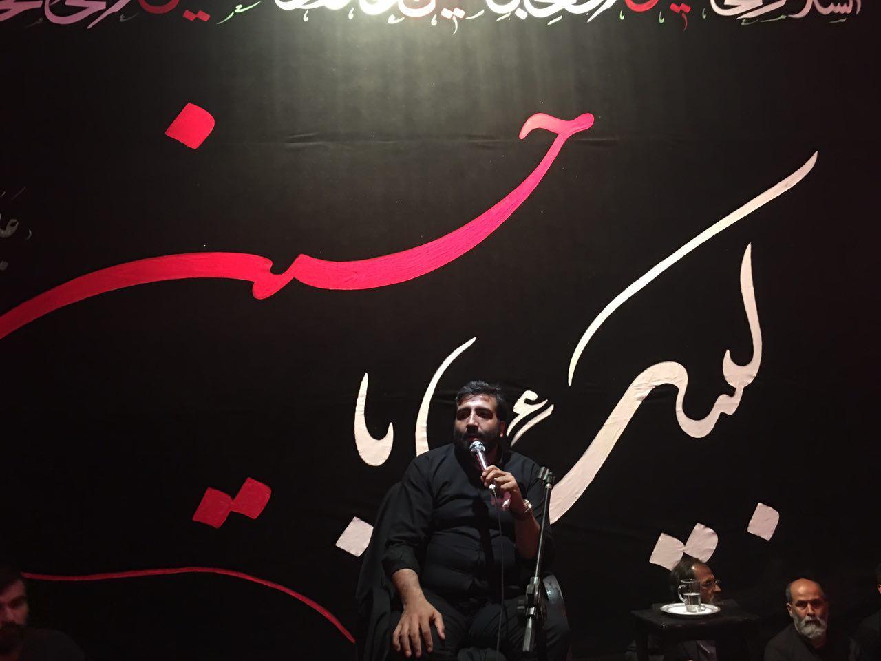 حاج مهدی مختاری شب 13 محرم 1395 حسینیه ی سیستانی های گرگان